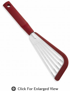 Kuhn Rikon SoftEdge Slotted Spatula Red
