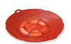 "Kuhn Rikon Spill Stopper Over Boil Protector 10"" Red"