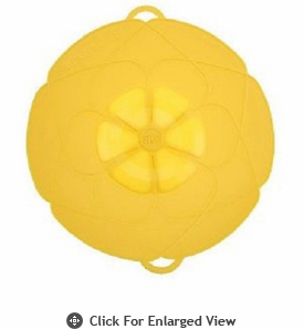 "Kuhn Rikon Spill Stopper Over  Boil Protector 12"" Buttercup Yellow"