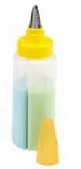Kuhn Rikon Two Chamber Squirt Bottle with Leaf Tip