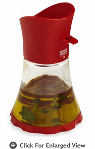 Kuhn Rikon Vase Cruet Oil/Vinegar - Red