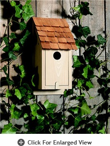 Lazy Hill Farm Classic Bluebird House