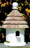 Lazy Hill Farm Small Shingled Bird House