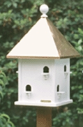 Lazy Hill Farm Square Bird House