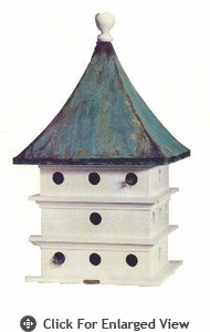 Lazy Hill Farm Ultimate Martin House Bird House