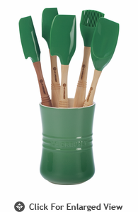 Le Creuset 6 Pc Revolution™ Utensil Set Fennel