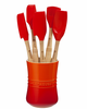 Le Creuset 6 Pc Revolution™ Utensil Set Flame