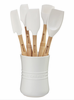 Le Creuset 6 Pc Revolution™ Utensil Set White