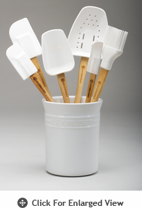 Le Creuset 7pc Spatula Set White