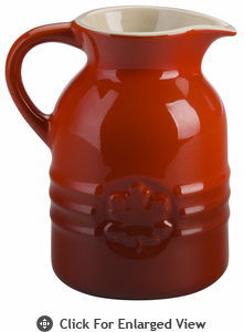 Le Creuset 8 oz. Syrup Jar Red