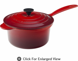 Le Creuset Cast Iron 2 3/4 Qt Precision Pour Saucepan Red