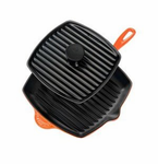 Le Creuset  Cast Iron  Panini Press and Skillet Grill Sets