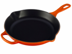 "Le Creuset  Signature 9""  Iron Handle Skillets"
