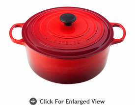 Le Creuset Signature Cast Iron 13.25Qt Round French Ovens