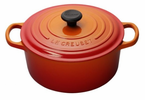 Le Creuset  Signature Cast Iron  1Qt Round French Ovens