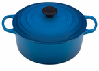 Le Creuset  Signature Cast Iron  5.5Qt Round French Ovens