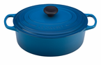 Le Creuset  Signature Cast Iron  6.75 Qt  Oval French Ovens
