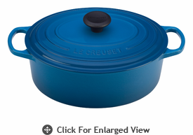 Le Creuset Signature Cast Iron 9.5 Qt Oval French Ovens