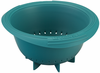 Le Creuset Silicone Berry Colander Caribbean
