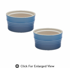 Le Creuset Stoneware 7oz Stackable Ramekins (set of 2) Marseille