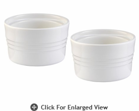 Le Creuset Stoneware 7oz Stackable Ramekins (set of 2) White