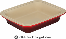 Le Creuset Stoneware Deep Dish Baker Red