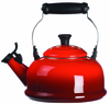 Le Creuset Whistling Teakettle Cherry Red