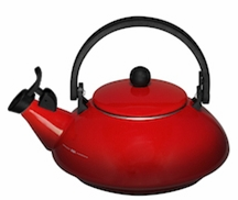 Le Creuset Zen Teakettle - Red