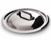Mauviel M'cook Cast Stainless Steel Lid 16 cm Cast Iron Handle