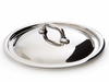 Mauviel M'cook Cast Stainless Steel Lid 24 cm Cast Stainless Steel Handle