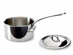 Mauviel M'Cook  Stainless Steel  Saucepans