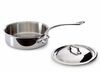 Mauviel M'cook Stainless Steel Saute Pans