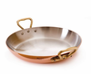 Mauviel M'h�ritage Copper Round Roasting Pan 12cm Bronze Handles
