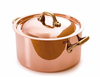 Mauviel M'heritage Copper  Round Cocottes