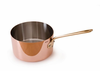 Mauviel M'heritage Copper Sauce Pan 12 cm / 0.9 Qt.  Bronze Handle