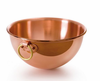 Mauviel M'passion Copper Egg White  Beating Bowl 4.9Qt.