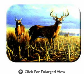 "McGowan Mfg TUFTOP Tempered Glass Cutting Board Deer - Local Legend Medium 12"" X 16"""