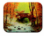 McGowan Mfg  TUFTOP Tempered Glass   Cutting Boards  Autumn Bridge