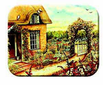 McGowan Mfg  TUFTOP Tempered Glass   Cutting Boards  Cottage Garden