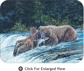 McGowan Mfg TUFTOP Tempered Glass Cutting Boards Grizzly Fishing
