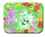 McGowan Mfg   TUFTOP Tempered Glass  Cutting Boards   Hummingbirds