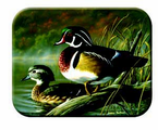 McGowan Mfg   TUFTOP Tempered Glass  Cutting Boards  Wood Ducks