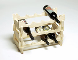 Modularack Wine Rack 10 Bottles (2X5) Out of Stock until April 2014