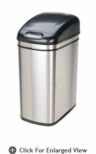 Nine Stars USA Touchless Infrared 30 Liter Trash Receptacle Model DZT-30-1