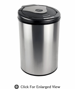 Nine Stars USA Touchless Infrared Trash Receptacle  Model DZT-32-17