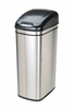 Nine Stars USA Touchless Infrared Trash Receptacle Model DZT-42-1