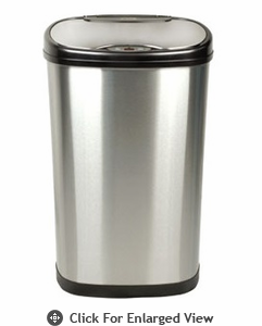 Nine Stars USA Touchless Infrared Trash Receptacle  Model DZT-50-13