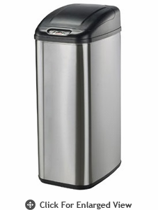 Nine Stars USA  Touchless Infrared Trash Receptacle  Model DZT-50-6
