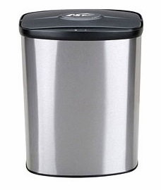 Nine Stars USA  Touchless Infrared Trash Receptacle Model DZT-8-1C