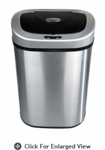Nine Stars USA  Touchless Infrared Trash Receptacle Model DZT-80-4